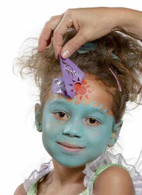 Pochoirs de maquillage