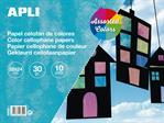 Papier cellophane de couleur