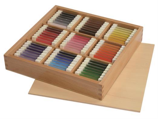 Coffret tablettes de couleurs