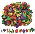 Fruits et légumes en caoutchouc souple