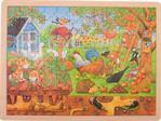 Puzzle 96 pièces notre jardin