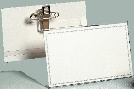 Porte badge 50 x 90 mm quipement et papeterie for Porte badge 60 x 90