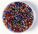 Perles rocaille diamantées