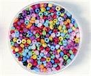 Perles rocaille nacrées
