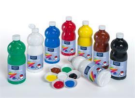Gouache liquide 1 litre assorties