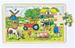 Puzzle 24 pièces la ferme des meuniers