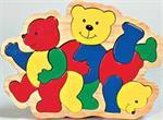 Puzzle de charlie trois ours