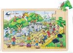 Puzzle 24 pièces une journée au zoo