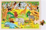 Puzzle 48 pièces afrique