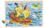 Puzzle 96 pièces les pirates