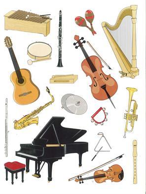 Image gallery instruments de musique - Photo d instrument de musique ...