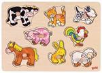 Puzzle à encastrements mes petits animaux