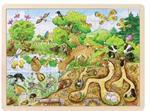 Puzzle 96 pièces découverte de la nature