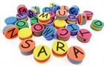 Perles mousse alphabet