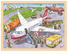 Puzzle 96 pièces à l'aéroport